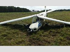 National Guard Pilot Crashed Plane, Left Local Police in