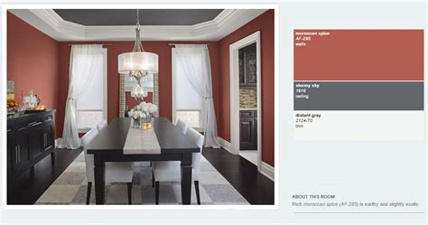 benjamin 2014 dining interiors by color