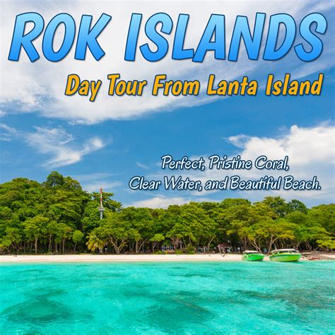 Speed Boat Krabi To Koh Lanta by Rok Islands Day Tour From Lanta Island By Speedboat