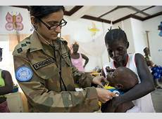 The Role of Women in Peacekeeping Just A Platform