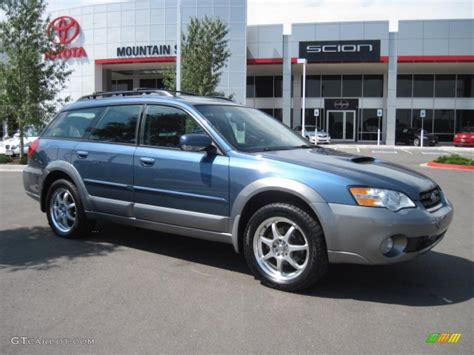 subaru blue 2006 atlantic blue pearl subaru outback 2 5 xt wagon