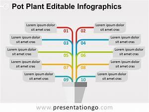 Pot Plant Powerpoint Diagram