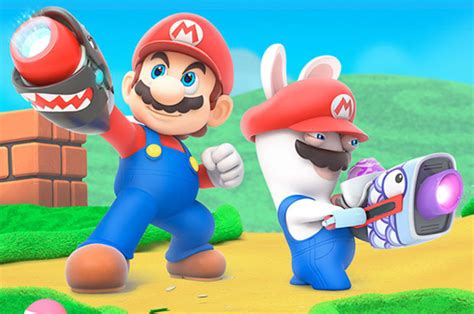 mario rabbids kingdom battle is the best mario game for years ps4 xbox nintendo switch