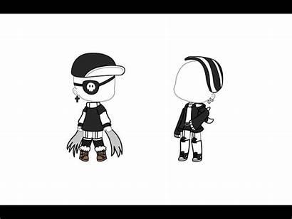 Gacha Outfits Character Anime Bad