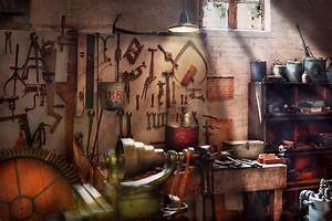 Steampunk - Machinist - The Inventors Workshop Photograph