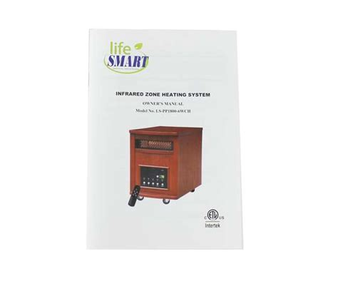 infrared ls for healing lifesmart 1500w plus infrared quartz heater ls pp1800