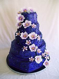 Big Purple Birthday Cake - CakeCentral.com