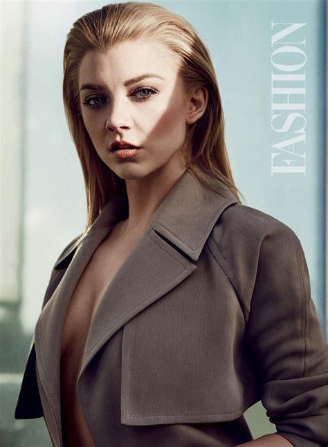 Natalie Dormer Photoshoot by Natalie Dormer Fashion Magazine February 2016 Photoshoot