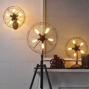 antique reproduction ceiling fans wanted imagery With edison fan floor lamp