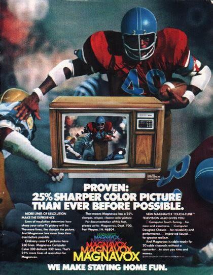 magnavox television vintage ad proven