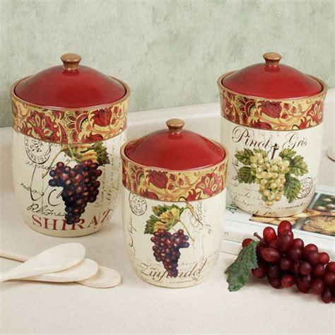 Grape Canister Sets Kitchen by Grape Kitchen Items Kitchen Decor Accessories 187 Grape
