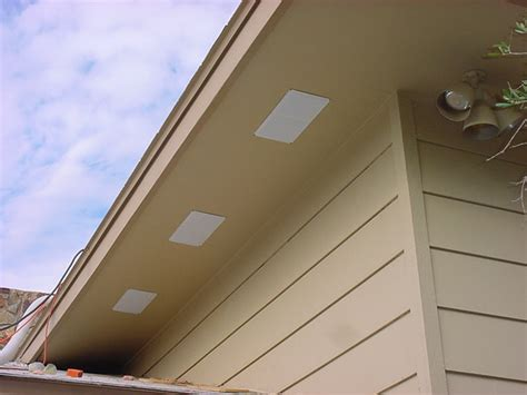 new bathroom fan roof vent vs soffit vent homeimprovement