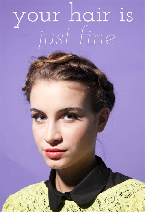 styling tips for thin hair your hair is just 1 say yes 4446