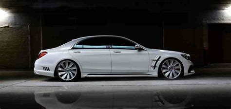 New Photos Of The Wald Mercedes-benz S-class Released
