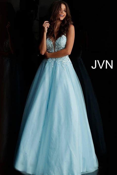 #Prom2019 #PromDresses#ballgown#JVN #Alinedress #formal# ...