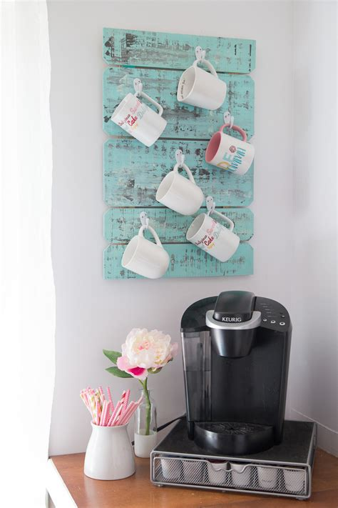 Perfect wedding shower gift for coffee lovers! Coffee Cup Holder - Made To Be A Momma