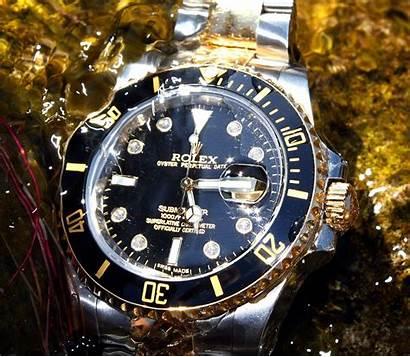 Rolex Submariner Diamond Tone Wallpapers Underwater Diamonds