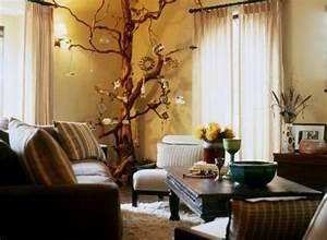 Baum Für Wohnzimmer : innendekoration mit zweigen 20 coole ideen ~ Michelbontemps.com Haus und Dekorationen