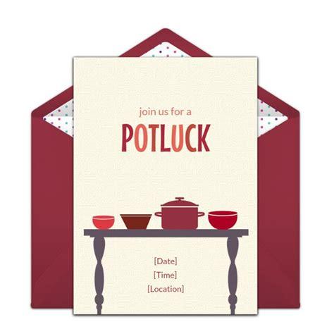 potluck invitations potluck invitation