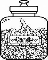 Coloring Candy Pages Printable Jar Food Print Coloringpages101 Chocolate Candies Sheets Adult Children Jelly Bar Bean Cotton Pdf Getcoloringpages Corn sketch template
