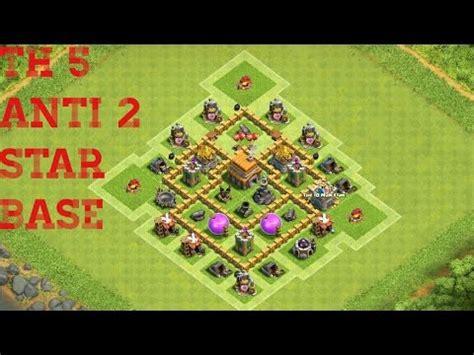 5 anti 3 war base clash of clans th5 war base anti 2 2016 5 an