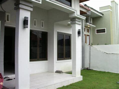 contoh gambar desain model tiang teras rumah minimalis