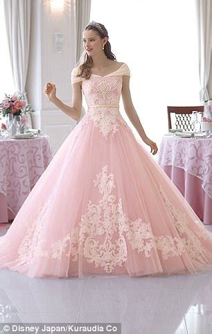 cinderella brand dress disney inspired gowns let brides become princess for day