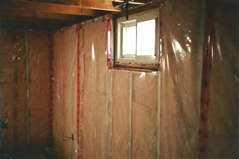 vapour barrier on basement concrete floor pro construction forum be the pro framing with metal studs thumb and hammer