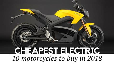 cheapest electric motorcycles  sale   prices