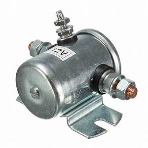 12v Starter System Solenoid Relay Switch Continuous Engine