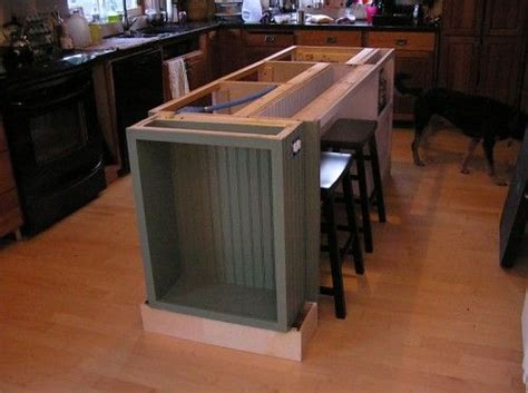 diy kitchen island with seating blogspot com 2007