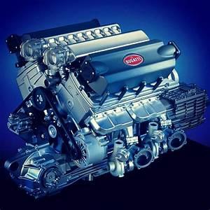 Bugatti Veyron Engine L