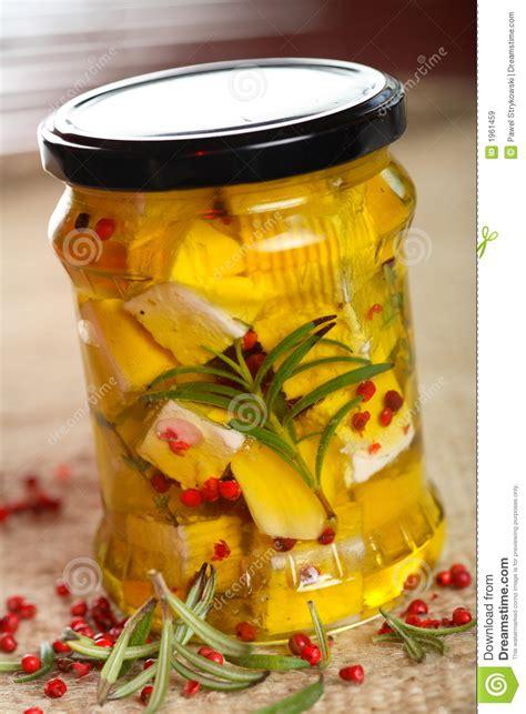 huile de cuisine fromage blanc en huile de cuisine images libres de droits
