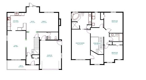 master on house plans two house plans with master on second floor amazing