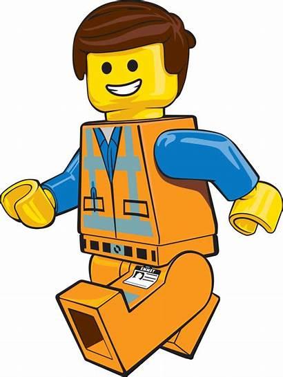 Lego Construction Clipart Emmet Worker Clip Cartoon