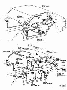 Toyota Cressida Wire  Headlamp Repair  Electrical  Wiring