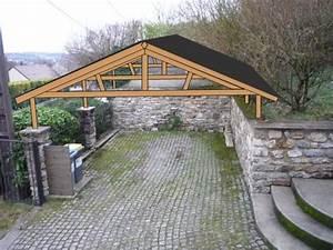 Construire Un Carport : comment concevoir une ossature bois sur mesure pour se ~ Premium-room.com Idées de Décoration
