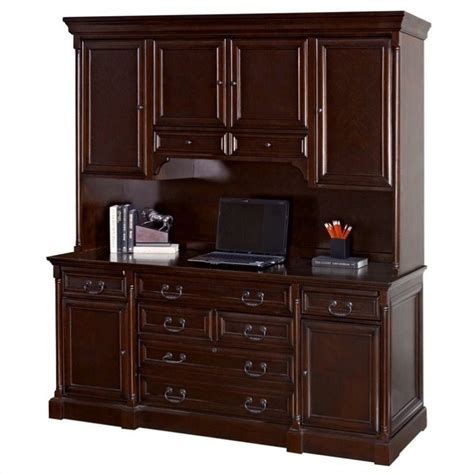 wood desk with hutch martin furniture mount view wood credenza desk with hutch