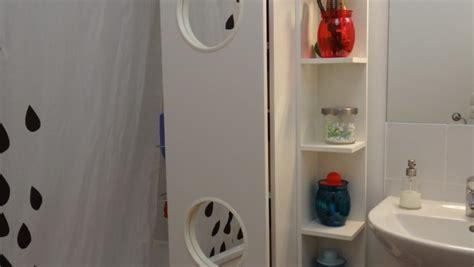 panier salle de bain ikea le panier 224 linge lillangen devient un placard de salle de bain bidouilles ikea