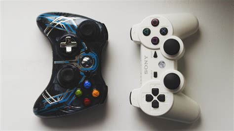 dualshock gamepad xbox  playstation  controller game