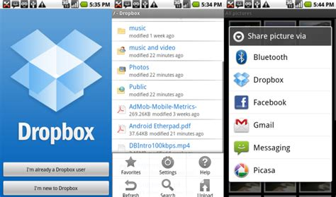 dropbox android 7 great apps for media while mobileall about apps