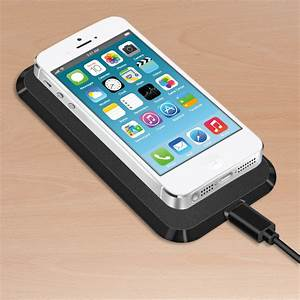 Dockingstation Iphone 5s : kwmobile wireless charging station for apple iphone 5 5s black qi docking ebay ~ Orissabook.com Haus und Dekorationen