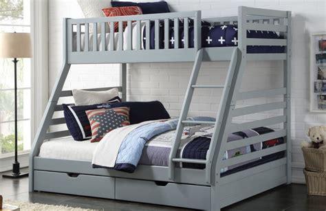 bunk beds rooms to go bronto triple bunk bed grey kids beds bunks hanleys 18394 | Space grey 926x600