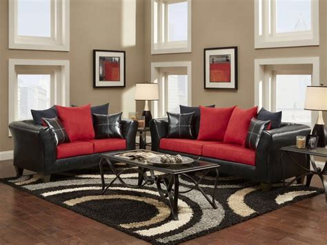 Wohnzimmer Schwarz Rot by Bloombety Simple Black And Formal Living Room Ideas