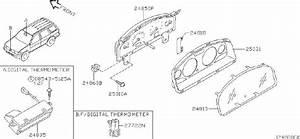Nissan Pathfinder Speedometer Ass  Speedometer With Odo