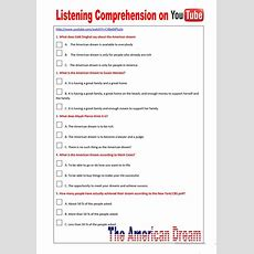 74 Free Esl Listening Comprehension Worksheets
