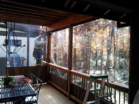 porch vinyl enclosures randolph indoor  outdoor design