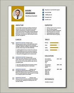 Warehouse Skills Examples Free Warehouse Assistant Cv Template 2