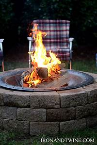 build a fire pit how to build a fire pit