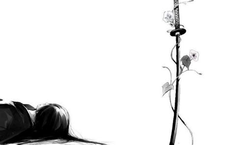 Black And White Anime Wallpaper - anime white wallpaper wallmaya